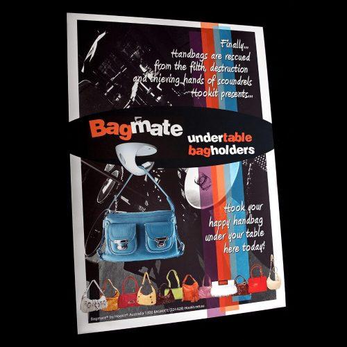 Bagmate Undertable Bag Hook Customer Awareness Material - A4 Poster