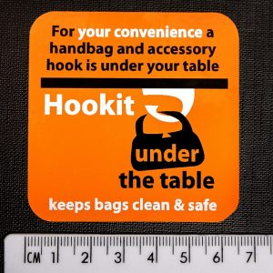 Table Sticker – Orange Large