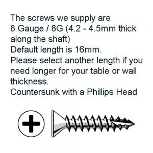 Pack of 3 Screws
