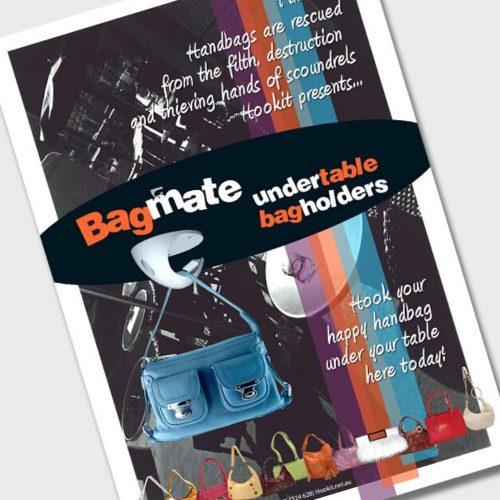 Undertable Bag Holder Customer Awareness Material - A4 Poster